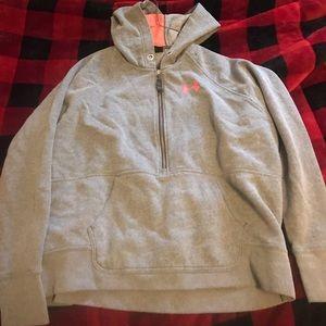 Under armor quarter zip hoodie